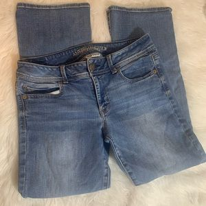American Eagle AE size 12 short Kick Boot Jeans